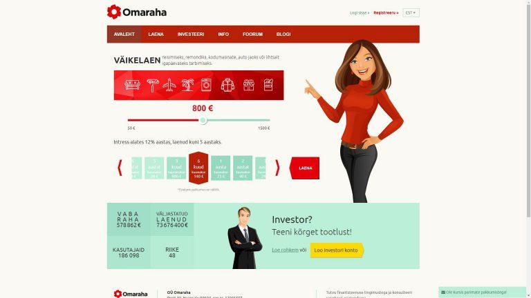 Omaraha-screen